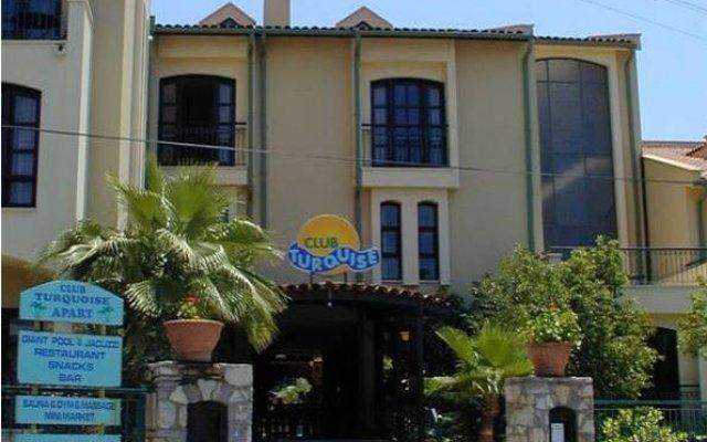 Club Turquoise Apart Турция, Мармарис - отзывы, цены и фото номеров - забронировать отель Club Turquoise Apart онлайн вид на фасад