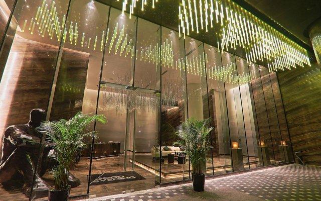 Отель W Guangzhou Гуанчжоу вид на фасад