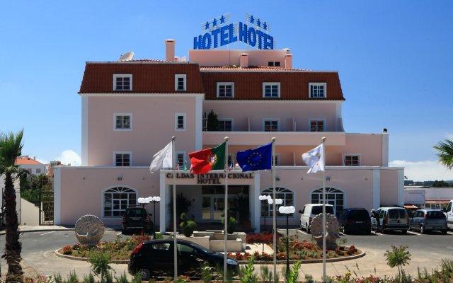 Отель Caldas Internacional Калдаш-да-Раинья вид на фасад