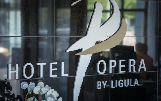 Hotel Opera вид на фасад