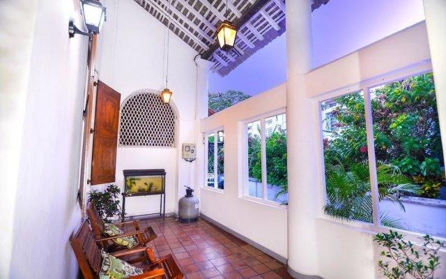 Отель Sam Villa Galle Fort Шри-Ланка, Галле - отзывы, цены и фото номеров - забронировать отель Sam Villa Galle Fort онлайн вид на фасад