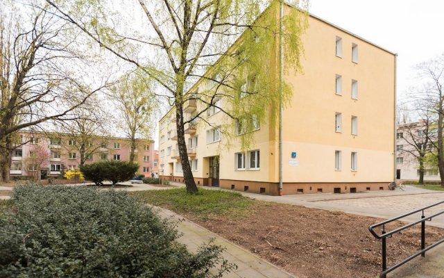 Апартаменты Heart of Warsaw II apartment вид на фасад