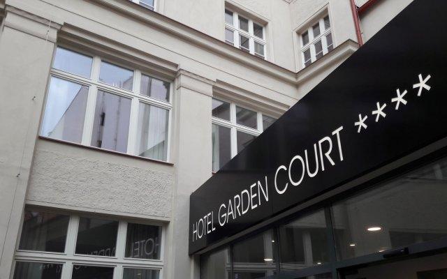 Hotel Garden Court вид на фасад