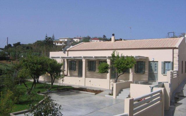 Отель Geraniotis Beach вид на фасад