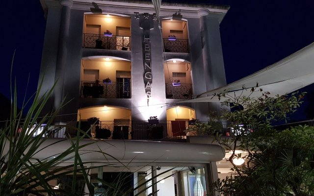 Hotel Bengasi вид на фасад
