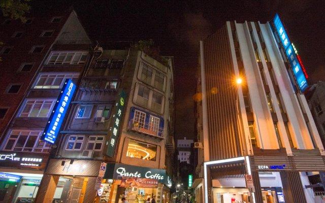 ECFA Hotel Ximen вид на фасад