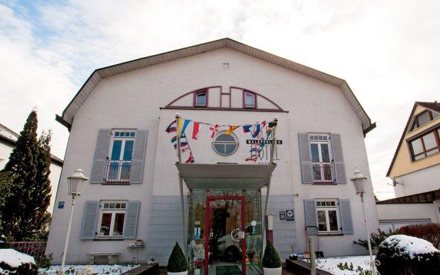 Отель Villa Waldperlach Германия, Мюнхен - отзывы, цены и фото номеров - забронировать отель Villa Waldperlach онлайн вид на фасад