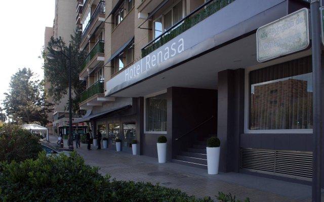 Sweet Hotel Renasa Валенсия вид на фасад