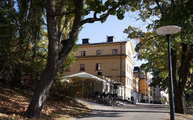 Отель STF af Chapman & Skeppsholmen Швеция, Стокгольм - 1 отзыв об отеле, цены и фото номеров - забронировать отель STF af Chapman & Skeppsholmen онлайн вид на фасад