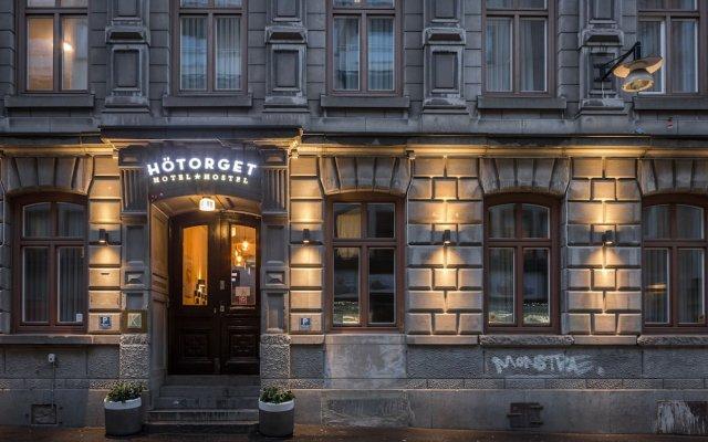 Hotel Hötorget вид на фасад