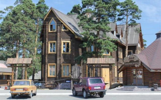Арт-Эко-отель Алтай Бийск вид на фасад