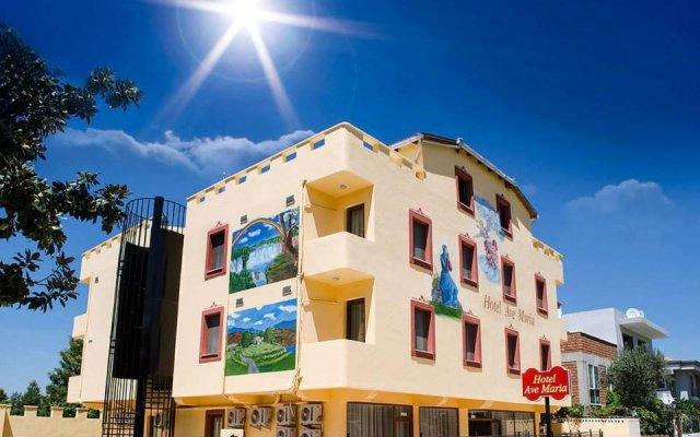Hotel Ave Maria Сельчук вид на фасад