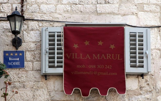 Отель Villa Marul вид на фасад
