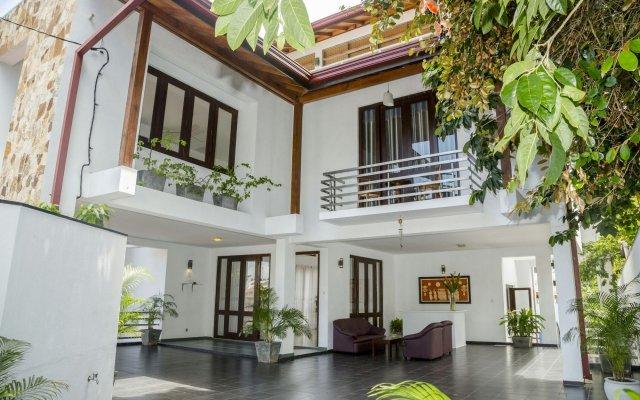 Отель Villa Upper Dickson Шри-Ланка, Галле - отзывы, цены и фото номеров - забронировать отель Villa Upper Dickson онлайн вид на фасад