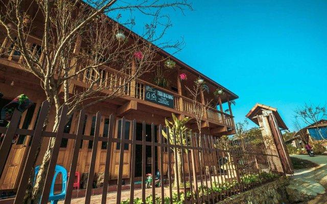 Отель Golden Rice Garden Sapa Шапа вид на фасад