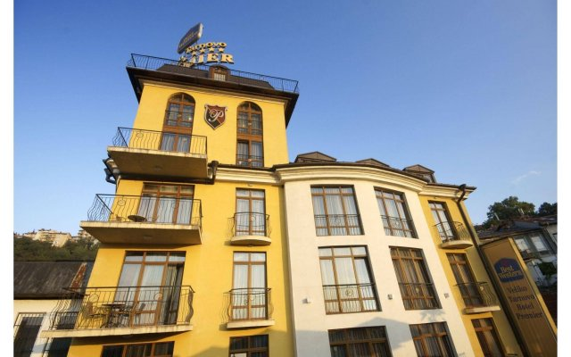 Hotel Premier Veliko Tarnovo Велико Тырново вид на фасад