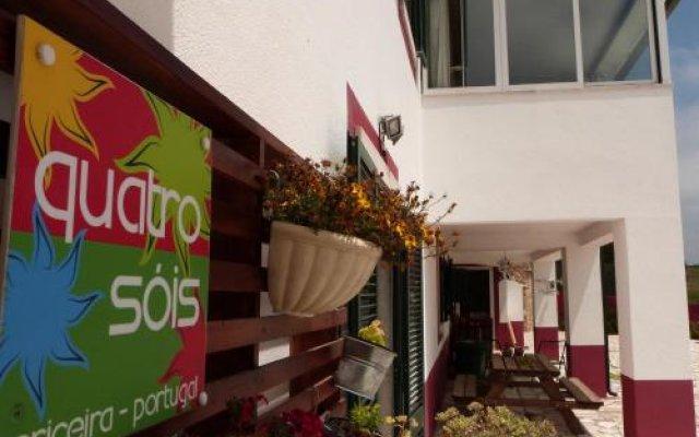 Отель Quatro SÓis Guesthouse Мафра вид на фасад