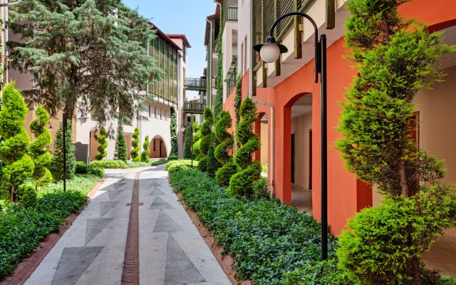Amara Dolce Vita Luxury Турция, Кемер - 6 отзывов об отеле, цены и фото номеров - забронировать отель Amara Dolce Vita Luxury онлайн вид на фасад