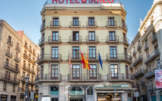 Hotel Suizo вид на фасад