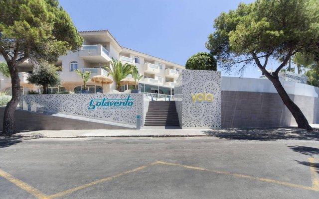 Отель Apartamentos Sotavento - Только для взрослых вид на фасад