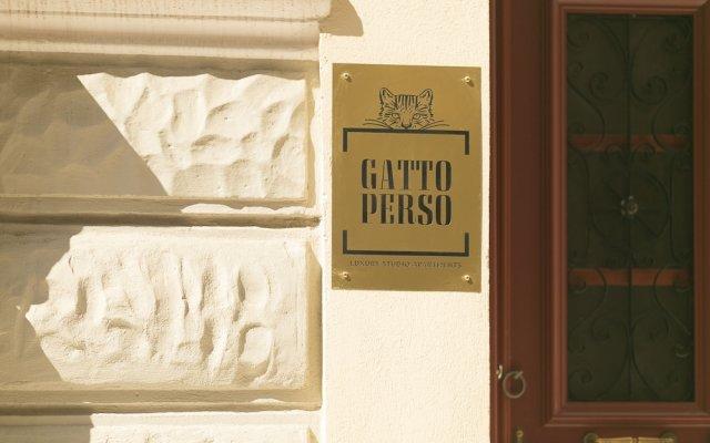 Апартаменты Gatto Perso Luxury Apartments вид на фасад