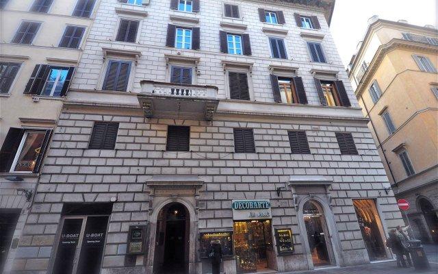 Отель Babuino127 Rooms вид на фасад