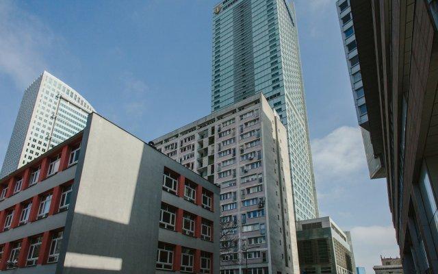 Апартаменты P&O Apartments Rondo ONZ 3 вид на фасад