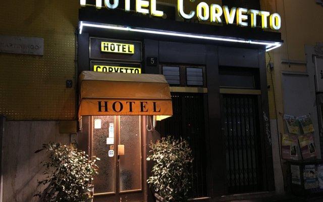 Hotel Corvetto вид на фасад