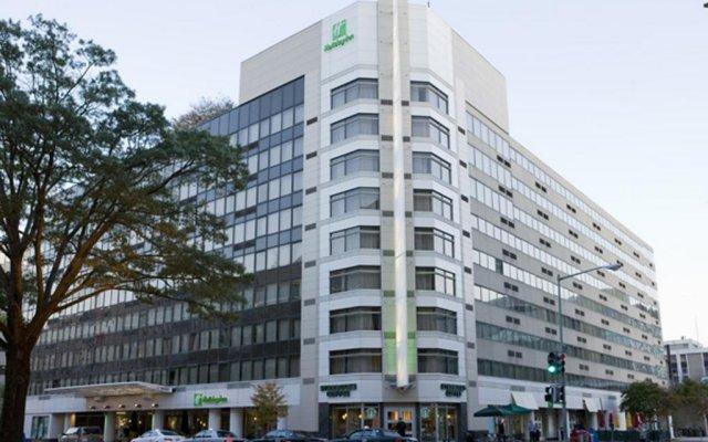 Отель Holiday Inn Washington-Capitol вид на фасад