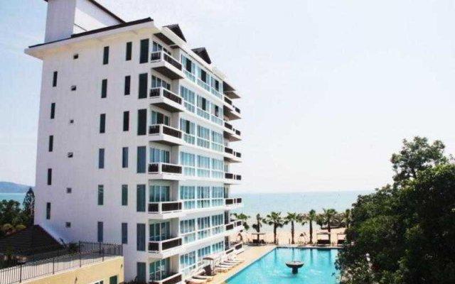 The Sand Beach Hotel Pattaya вид на фасад