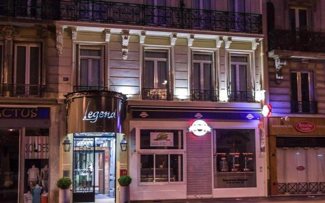 Hotel Legend Saint Germain by Elegancia вид на фасад