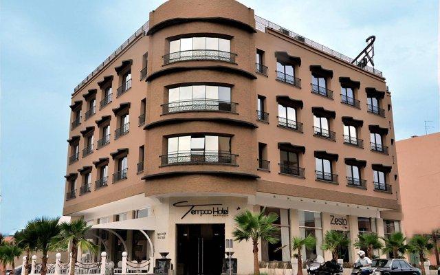 Tempoo Hotel Marrakech вид на фасад