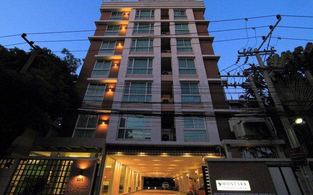 Апартаменты Montara Serviced Apartment Thonglor 25 Бангкок вид на фасад
