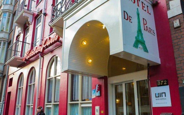 Отель De Paris Нидерланды, Амстердам - 2 отзыва об отеле, цены и фото номеров - забронировать отель De Paris онлайн вид на фасад