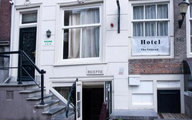 Отель Hostel The Veteran Нидерланды, Амстердам - отзывы, цены и фото номеров - забронировать отель Hostel The Veteran онлайн вид на фасад