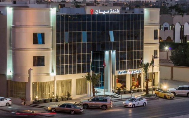 Myan Al Urubah Hotel вид на фасад