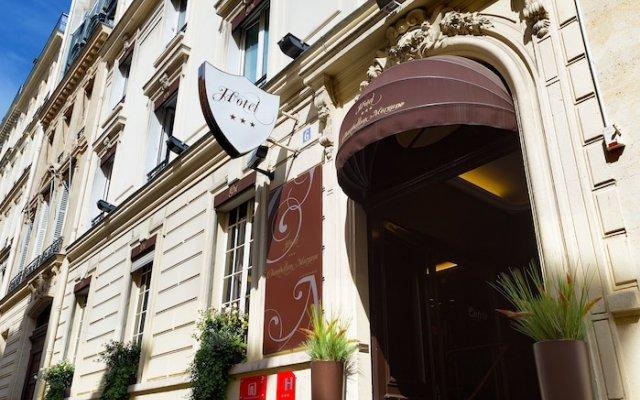 Отель Chambellan Morgane Франция, Париж - отзывы, цены и фото номеров - забронировать отель Chambellan Morgane онлайн вид на фасад