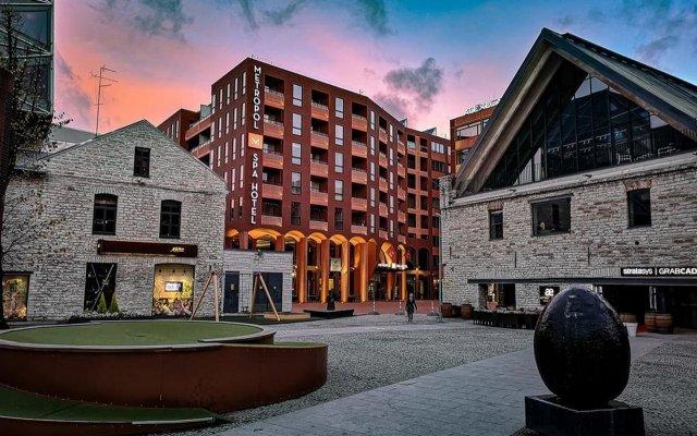 Отель Metropol Spa Hotel Эстония, Таллин - 4 отзыва об отеле, цены и фото номеров - забронировать отель Metropol Spa Hotel онлайн вид на фасад