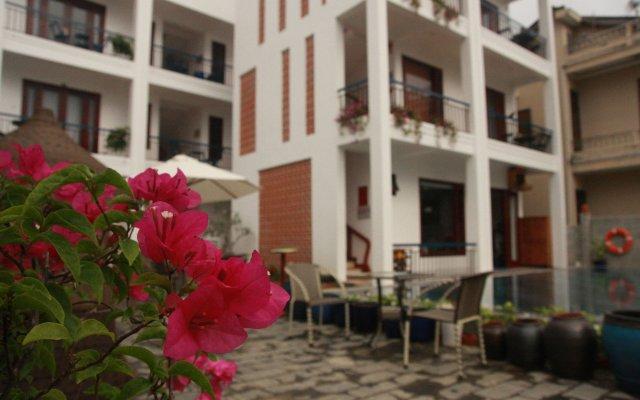 Отель Relax Garden Boutique Villa Hoi An вид на фасад