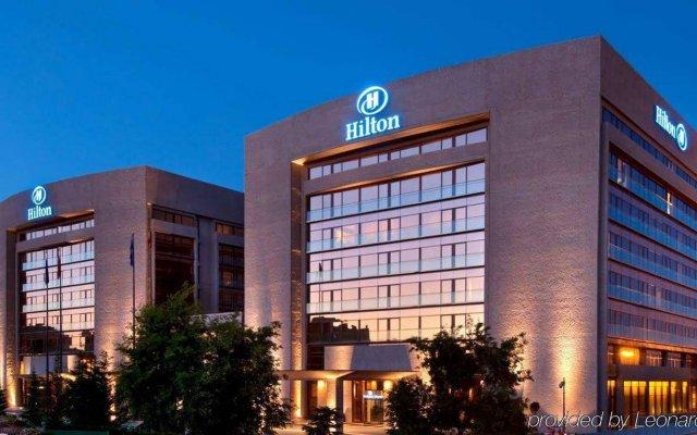 Отель Hilton Madrid Airport вид на фасад