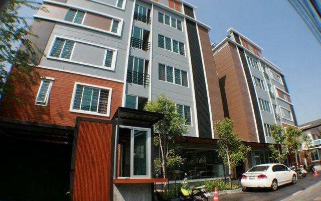Отель My Space Apartments Таиланд, Бангкок - отзывы, цены и фото номеров - забронировать отель My Space Apartments онлайн вид на фасад