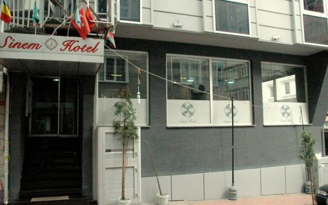Sinem Hotel вид на фасад