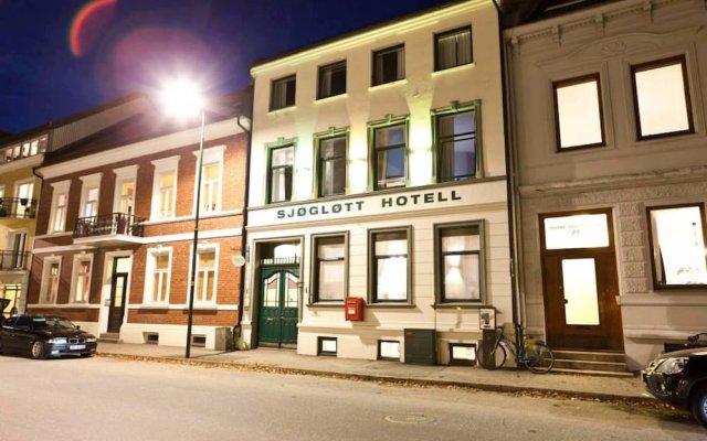 Отель Sjøgløtt Hotel Норвегия, Кристиансанд - отзывы, цены и фото номеров - забронировать отель Sjøgløtt Hotel онлайн вид на фасад
