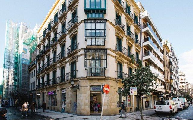 Отель Apartamentos San Marcial 28 Испания, Сан-Себастьян - отзывы, цены и фото номеров - забронировать отель Apartamentos San Marcial 28 онлайн вид на фасад