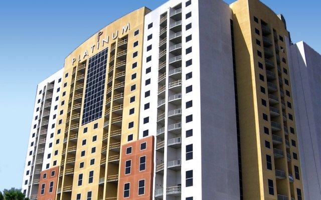 Отель Platinum Hotel США, Лас-Вегас - 8 отзывов об отеле, цены и фото номеров - забронировать отель Platinum Hotel онлайн вид на фасад