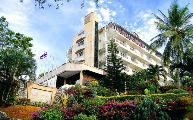 Royal Crown Hotel & Palm Spa Resort вид на фасад