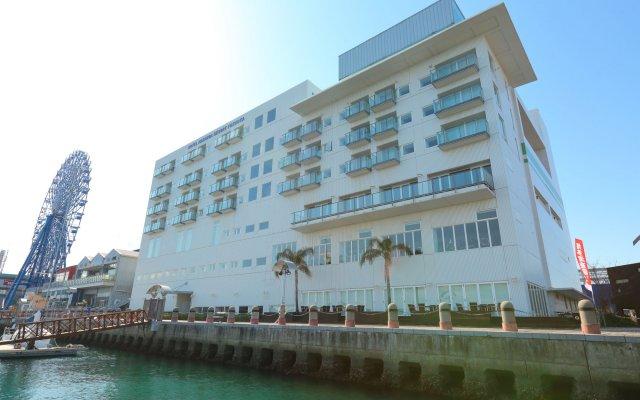 Отель Marinoa Resort Fukuoka Фукуока вид на фасад