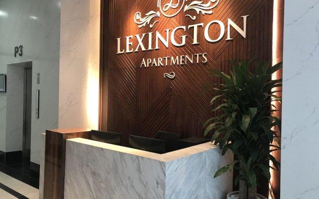 Апартаменты Lexington Serviced Apartments вид на фасад
