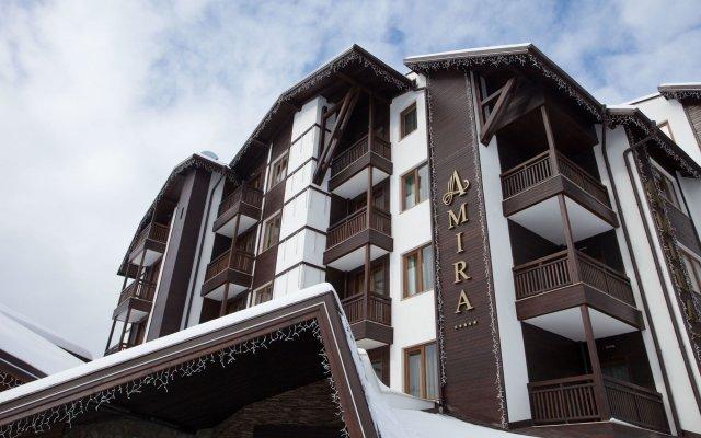 Отель SG Amira Boutique Hotel Болгария, Банско - отзывы, цены и фото номеров - забронировать отель SG Amira Boutique Hotel онлайн вид на фасад