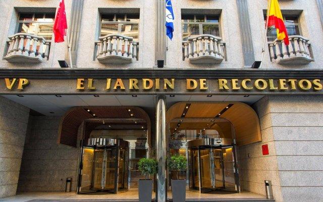 Отель VP Jardín de Recoletos вид на фасад